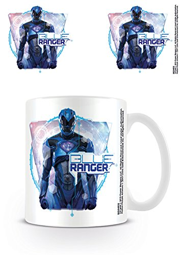 Power Rangers película Azul Ranger Taza de cerámica ...
