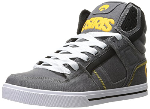 Osiris Men's Clone Skate Shoe Grey/Yellow/White cheap amazing price discount browse hPvKM