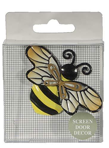2.5 Inch Bumble Bee Iron Screen Door Magnet Screen Saver Decoration