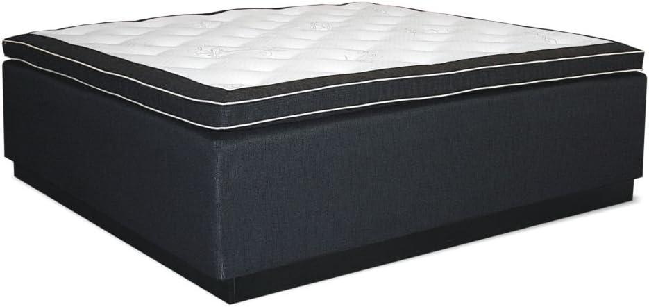 Cama con somier cama níquel-hierro., caja: Núcleo de muelles ...