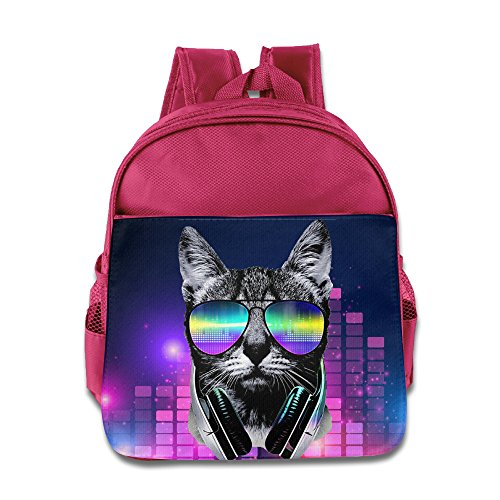 MEGGE Music Lover Cat V.II New Design Children's Bags - Bans Nz Ray
