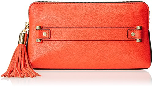 MILLY Astor Clutch, Vermillion, One Size