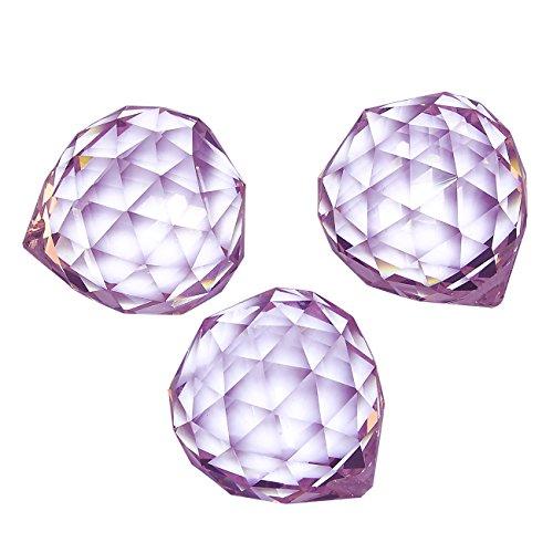 Pink Crystal Pendant Light - 8