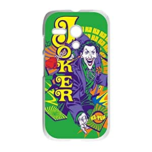 Motorola G Cell Phone Case White Choose a Card The Joker VIU982363