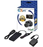 Ex-Pro® Panasonic DMW-AC8 AC Mains Power Supply Adapter & DMW-DCC8E Battery coupler kit for Panasonic Lumix SLR DMC-G5, DMC-G6, DMC-G7, DMC-G70, DMC-GH2, DMC-FZ200