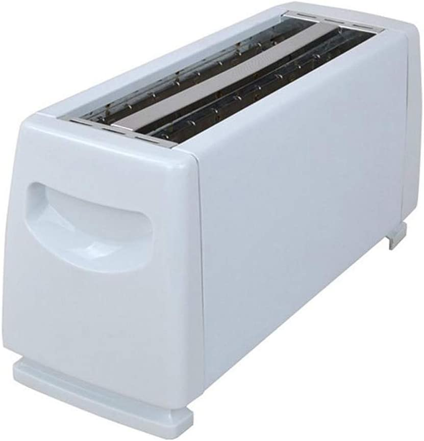 Toaster 4 Slice, Extra Wide Slot Compact Retro Toaster, with 6 Bread Shade Settings, 1150W for Bread Waffles, Cream, White