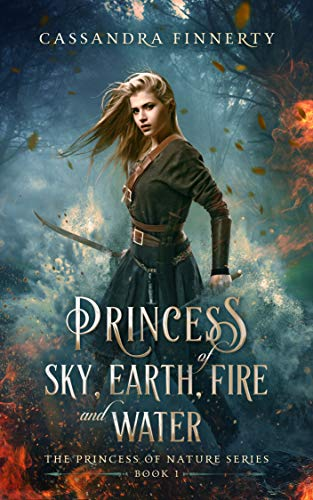 Princess Of Sky, Earth, Fire And Water by Cassandra Finnerty ebook deal