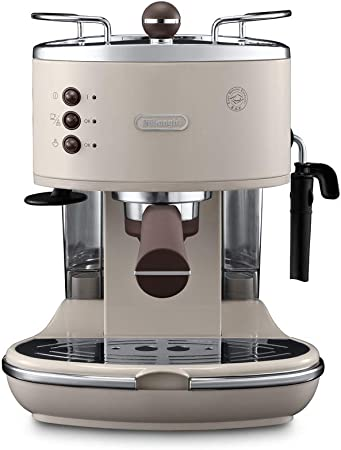 DeLonghi ECOV 311.BG Cafetera Automática, 1100 W, 1.4 L, 15 Bares, 2 Tazas, Acero Inoxidable, Beige: Amazon.es: Hogar