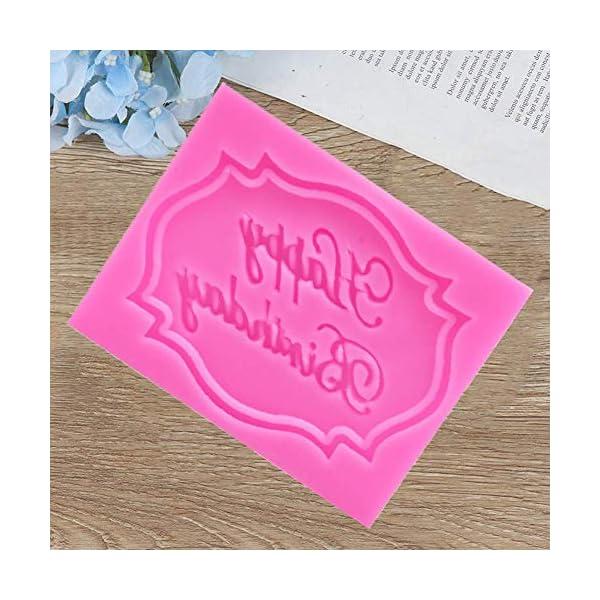 MOPKJH stampi Silicone Natalizi stampi in Silicone Natalizi Stampo di Natale Creativo Esclusivo Stampo Natalizio Stampo… 3 spesavip