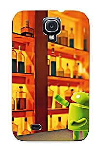Crazinesswith Premium Android At The Bar Heavy-duty Protection Design Case For Galaxy S4