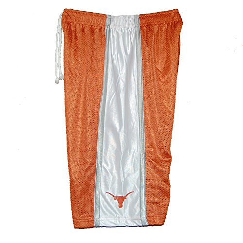 Texas Longhorns Burnt Orange Sparta Color Blocked Mesh Shorts (2X)
