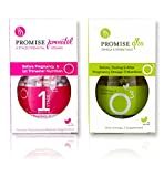 Promise Stage 1 Prenatal Vitamins and Promise DHA (3 Month Supply) - Pre-Pregnancy and 1st Trimester Multivitamin Supplements - Natural, Once a Day Pregnancy Nutrition