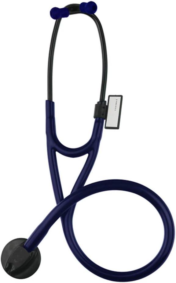 Estetoscopio Profesional médico de una Sola Cabeza, Auricular Profesional pediátrico Multifuncional, Regalo Ideal para el día del médico, médico, Maestro,1