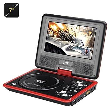 BW 7 pulgadas reproductor de DVD portátil con función de juego ...