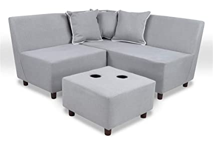 Superb Amazon Com Kangaroo Trading 6 Pc Tween Sectional Sofa In Pabps2019 Chair Design Images Pabps2019Com