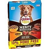 Kibbles 'n Bits Meaty Middles Prime Rib Flavor, Dry Dog Food, 16.5 lb Bag