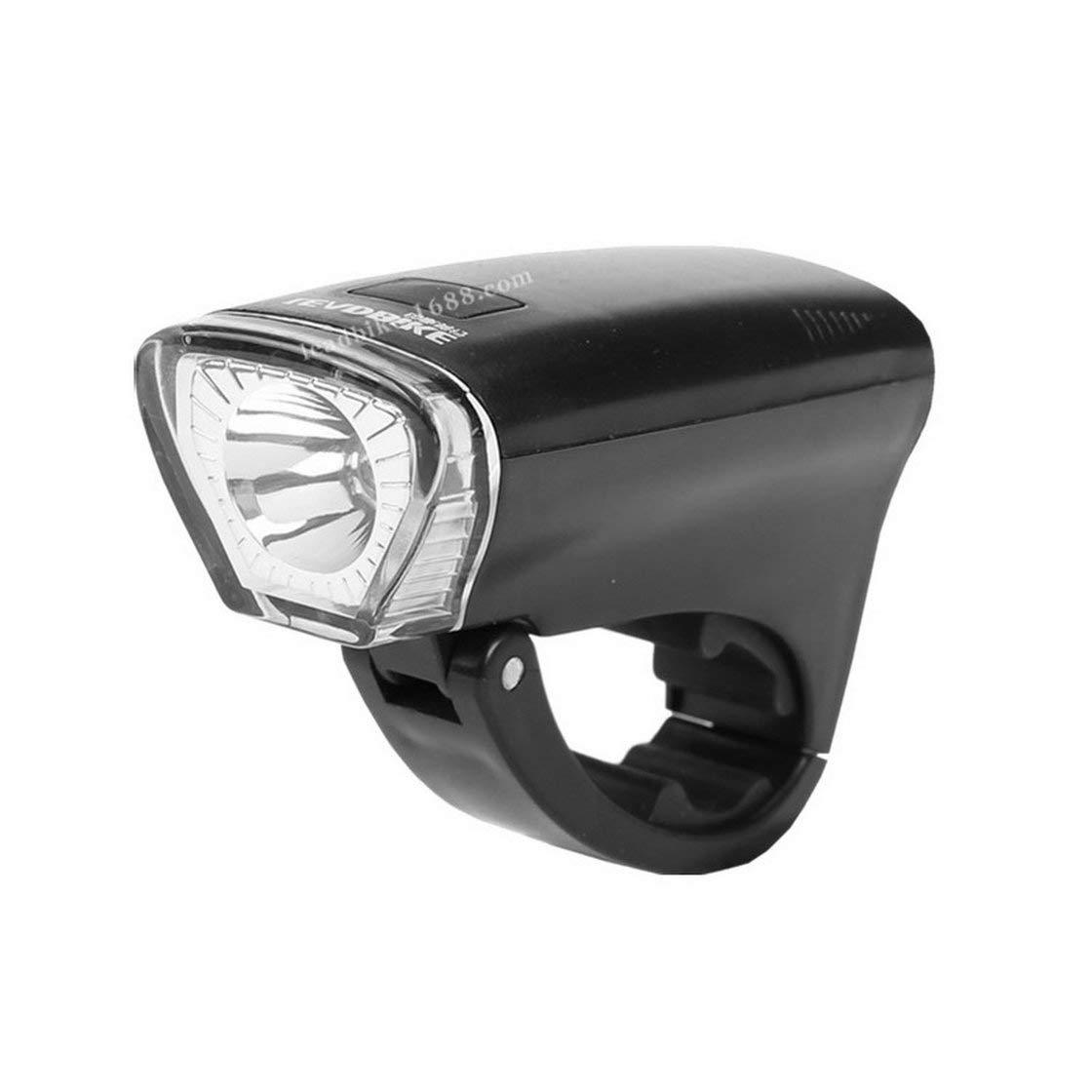 Gwendoll Bicicleta de luz Super Brillante Linterna de la Bici de la Bicicleta USB Recargable Linterna del Faro Resistente al Agua A126 Ligero de la Bicicleta