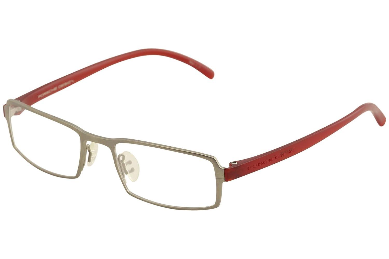 698bc8771a2b Amazon.com  Porsche Design Eyeglasses P8146 P 8146 C Gunmetal Titanium  Optical Frame 53mm  Clothing