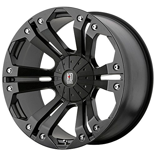 "XD Series by KMC Wheels XD778 Monster Matte Black Wheel (18x9""/5x127, 139.7mm, -12mm offset)"