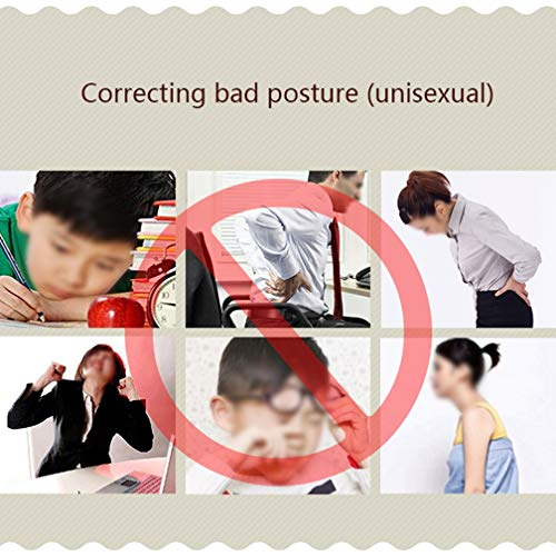 WYNZYJZBD Invisible Hunchback Correction Belt, Adult Students Universal Correction High and Low Shoulders with Chest Hunch Correction Belt Posture Correction (Size : M) by WYNZYJZBD (Image #1)