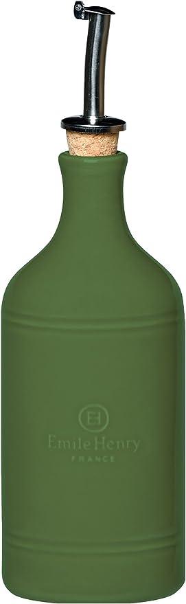 Emile Henry Oil Cruet Olive 14 ounce