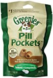 Greenies 30-Piece Canine Dog Treat With Pill Pocket For Tablet, Peanut Butter, 3.2 Ounce Package, (Pack Of 6) Review
