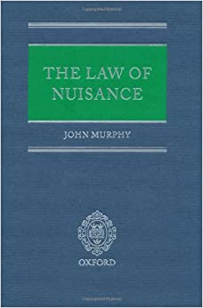 Book The Law of Nuisance (C 0 T the Law of Nuisance)