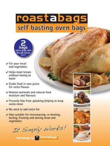 Toastabags 137 Large Turkey Oven Roasting Bags - Pack of 3