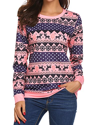 Cute Long Sleeve Christmas Sweater