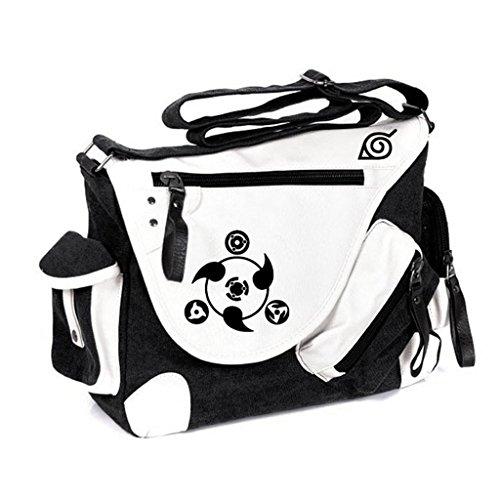 (Siawasey Anime Naruto Cosplay Handbag Backpack Cross-body Tote Bag Messenger Bag Shoulder Bag)