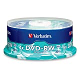 Verbatim DVD-RW 4.7GB 4X Surface 30-Disc Spindle 95179