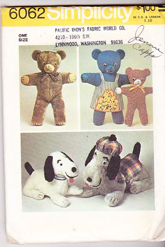 Vintage 70's Sewing Pattern - 6