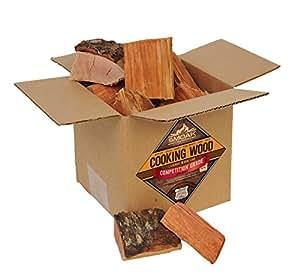 Amazon.com: Chunks de leña ahumada para cocinar, certificado ...