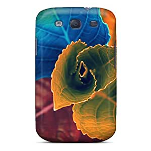 WlP1550vHqK CarlHarris Colors Of Leaves Durable Galaxy S3 Cases