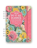 Orange Circle Studio 17-Month 2018 Do It All Planner, Bold Blossoms