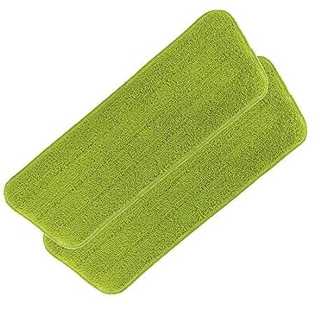 Spray Mopp multifunzione, 5 PZ. (funzione Spray integrata, Spraymopp, pulisci tappeti e scopa in gomma in un set) Ersatz-Wischtuch 2er-Set CLEANmaxx