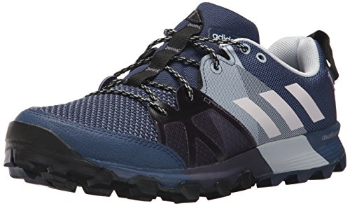 adidas outdoor Women's Kanadia 8.1 W Trail Running Shoe, Noble Indigo/Orchid Tint/Aero Blue, 7.5 M US Aero Hiking Shoes