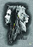 "LPG International Bob Marley ""Profiles"" Fabric Poster Print, 30 by 40-Inch"