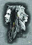 LPG International Bob Marley Profiles Fabric Poster Print, 30 by 40-Inch