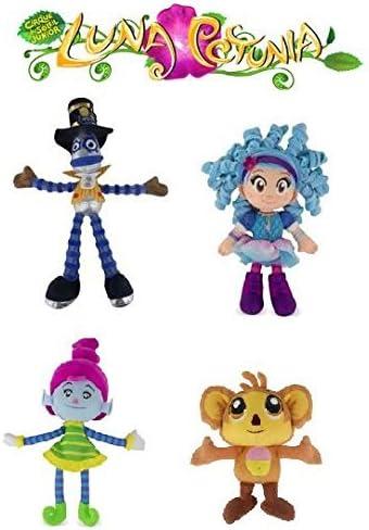 Luna Petunia Karoo Sammy Stretch Plush Soft Toy Gift