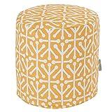 Majestic Home Goods Citrus Aruba Indoor/Outdoor Bean Bag Ottoman Pouf 16'' L x 16'' W x 17'' H