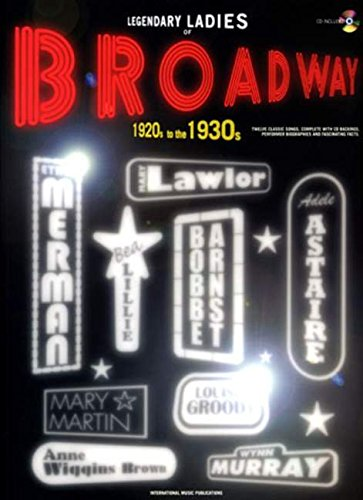 Download Legendary Ladies of Broadway: 1920s to the 1930s (Piano/Vocal/Guitar), Book & CD PDF