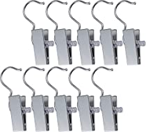 Pro Chef Kitchen Tools Hanger Clips Hooks 10 Boot Organizer - Heavy Duty