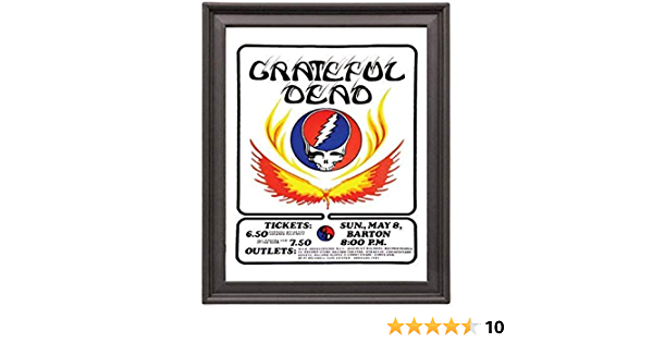 Desktop Frame Landscape Grateful Dead Autograph Replica Print