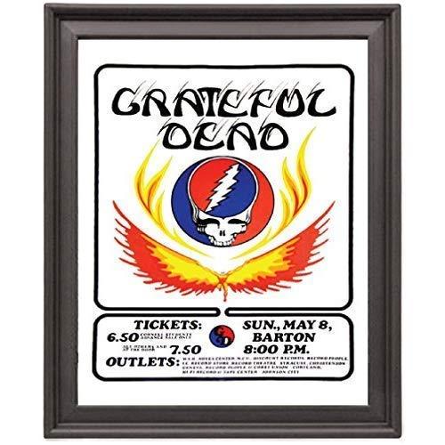 EV Grateful Dead Vintage Concert - Picture Frame 8x10 inches - Poster - Print