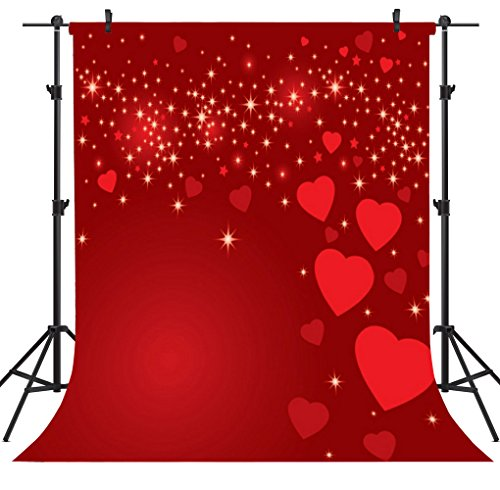 OUYIDA 5X7FT Valentine's Day Theme Pictorial Cloth Customized Photography Backdrop Background Studio Prop VDD024 -