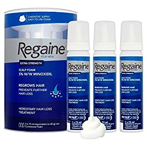 Regaine for Men Foam Triple Pack by Regaine