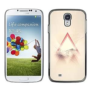 [Neutron-Star] Snap-on Series Teléfono Carcasa Funda Case Caso para Samsung Galaxy S4 [Santo Dios cristiano Awe Inspiring Nube Ray]