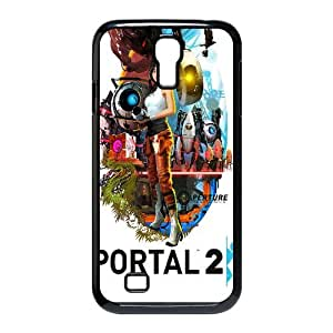 Portal 2 Game 5 Samsung Galaxy S4 90 Cell Phone Case Black y2e18-375719