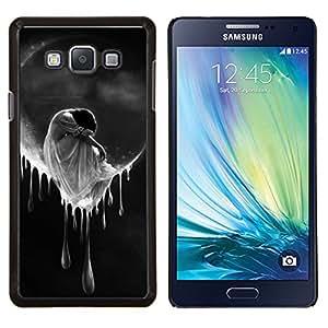 LECELL--Funda protectora / Cubierta / Piel For Samsung Galaxy A7 A7000 -- Mujer Triste Tears Luna Cry --